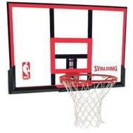 Акриловый щит для баскетбола SPALDING NBA RIM COMBO 48 ACRYLIC (комплект), фото 1