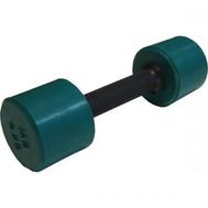 Гантель обрезиненная 4 кг, цветная MB-FitC-4, фото 1
