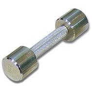 Гантель хромированная для фитнеса 2 кг MB-FitM-2, фото 1