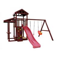 Детская уличная игровая площадка - IGRAGRAD CLASSIC ПАНДА ФАНИ PICNIC, горка, песочница, качели, фото 1
