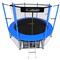 Складной каркасный батут - i-JUMP 8ft BLUE, фото 1