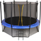 Большой батут для детей и взрослых - SWOLLEN CLASSIC 14 FT, сетка, лестница, мат в комплекте, фото 1